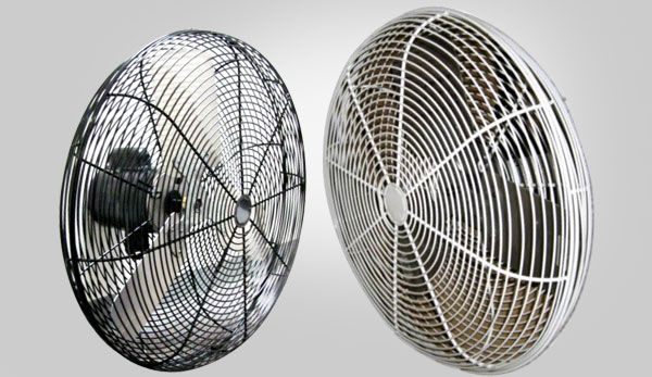 Reeves Supply Basket Fans